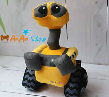 Free Shipping New 14'' Plush Wall-e Soft Toy Stuffed Cartoon Robot Doll Kid Gift