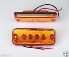 2x 12V Luci Di Posizione LED Laterali luci Color ambra Arancio Furgone Chassis