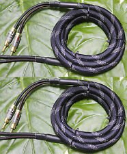 2.5meter Audiophile Hi-end AMP Nakamichi Locking banana plug Speaker Cable 12AWG