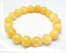CALCITE STONE BRACELET / NATURAL 8MM BEADS CALCITE STONE BRACELET