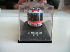 Minichamps Formula 1 Helmet R. Barichello 1995 on 1:8 in Box