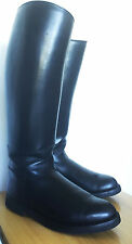 BOTTES POLICE FRENCH BOOTS PARABOOTS MOLLET XXL CALF T: 43 US 9'' UK 8,5'' ROB