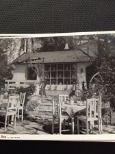 Postcard Unused The Old Colony Coffee House New Norfolk Seated Terrace  M59