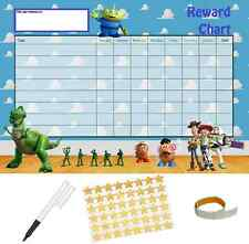 Toy Story Behaviour Reward Reusable Chart (A4 FREE~Stickers Pen Adhesive Pads)