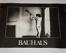 BAUHAUS In The Flat Field POSTER VINTAGE Punk Metal Peter Murphy  flyer lp cd 7""