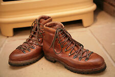 Very Rare Paul Smith Men's St Moritz Tan Leather Walking Style Boots Shoes UK 7