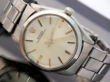 Rolex Watch Men's Oyster Perpetual Automatic Stainless Vintage 1960's Classic