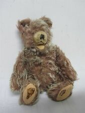 "VINTAGE GERMAN STEIFF SOFT FURRY ""ZOTTY"" TEDDY BEAR ~  8 3/4"" ~ NEEDS TLC"