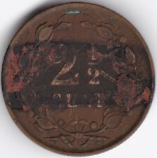 1890 Netherlands 2 1/2 Cent***Collectors***