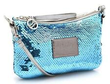 Coach Poppy Electric Blue Sequin Disco Swing Bag NEW