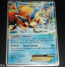 Keldeo EX 49/149 World Championship PROMO Pokemon Card NEAR MINT
