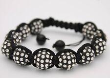 Beautiful Style Macrame Black Beaded Bracelet