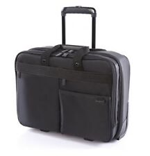 SAMSONITE BLACK VENNA ROLLING TOTE LAPTOP STROLLEY BAG with wheels