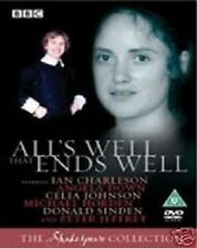 All's ALLS WELL THAT ENDS WELL BBC Shakespeare Collection DVD New UK Release