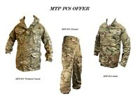 MTP PCS OFFER Windproof SMOCK PCS + SHIRT + PCS TROUSERS - British Army Grade 1
