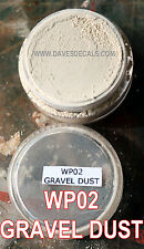 WP02 GRAVEL DUST DAVE'S WEATHERING POWDERS ALL NATURAL PIGMENT DAVE'S DECALS