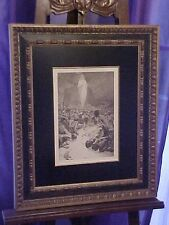 ORIGINAL MUSEUM Quality Alphonse Mucha Le Pater Lithograph Circa 1899 Must C