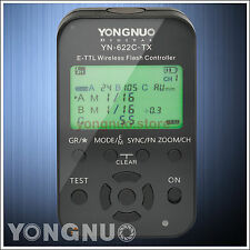 Yongnuo YN-622C-TX Wireless TTL Flash Controller for Canon 550D 500D 450D 400D