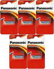 5 x Panasonic LRV08 Battery 12V (23A / MN21) - New