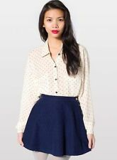 American Apparel corduroy circle skirt S