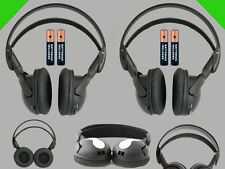 2 Wireless DVD Headsets for Dodge Vehicles : New Headphones Premium Sound