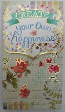 """Molly & Rex ~ Create Your Own Happiness ~ 6"""" Magnetic Flap Note Pad Punch Studio"""