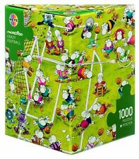 HEYE JIGSAW PUZZLE MORDILLO: CRAZY FOOTBALL 1000 PC COMICS TRIANGULAR BOX #29091