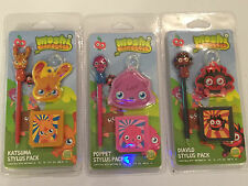 3 DS DSL DSi 2DS 3DS MOSHI MONSTERS STYLUS CASE WIPE PACKS POPPET DIAVLO KATSUMA