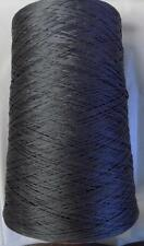 IAFIL EGYPTIAN MERCERIZED COTTON LACE CONE YARN 2 LBS 6 OZS ANTRACITE 865 (1O)