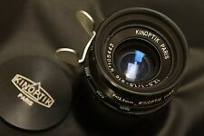 Kinoptik Paris  12.5mm f 1,5 Type 16,  arriflex mount. Mint  conditions