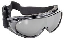 CHIX Motorcycle Surfing Skiing Fishing Goggles Silver Mirror Shatterproof Lens