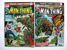Man-Thing   #2, #3  (Marvel Comics Group, volume 1, issues from 1974)