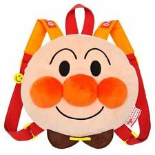 NEW Anpanman fluffy face Luc Children's Backpack Japan Official SEGA TOYS F/S
