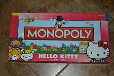 "Hello Kitty Sanrio MONOPOLY Board Game Collectors Edition ""GC"""