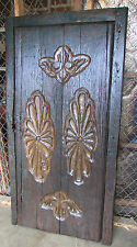 Antique Mexican Carved Old Door-Primitive-Rustic-37x72-Headboard-Coffee Table