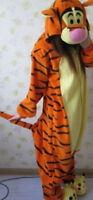 NEW.Disney Tigger tiger onesie/pajamas/pyjamas cosplay costume adult romper xmas