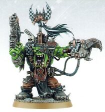 Warhammer 40k Space Ork Warboss from Battle for Vedros