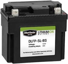 BikeMaster Lithium Ion Battery 375 Cranking Amps 12V DLFP-20L-BS