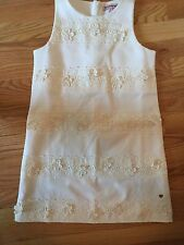Juicy Couture Off-White Sleeveless Dress - Girls Sz 10 - NWOT
