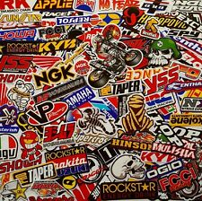 120 Mixed Random Stickers Motocross Motorcycle Car ATV Racing Bike Helmet Decal