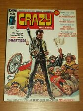 CRAZY #4 MAY 1974 CURTIS US MAGAZINE RICHARD NIXON SHAFTED