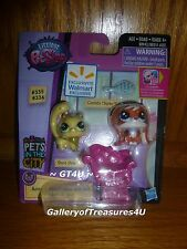 Littlest Pet Shop Shura Styles Conchita Chipley Adorable Duos 2 Pack Teensies