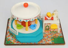 Vintage 1964 Fisher Price Musical Movement Merry Go Round