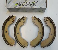 MOTAQUIP REAR  BRAKE SHOE SET  PART No VBS495  FITS MITSUBISHI LANCER, COLT