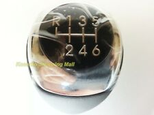 Hyundai Solaris Leather Gear Shift Knob 6Speed Manual 2011 2012 2013+ ACCENT M/T