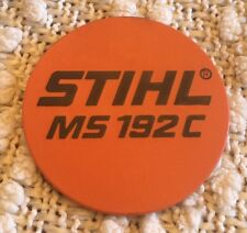 STIHL Chainsaw Rewind Starter Cover Model Plate ID Emblem Badge  MS 192C