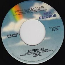 """BRENDA LEE - Every Now And Then  7"""" 45"""