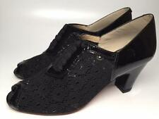 Re-Mix Footwear Remix Vintage Style Shoes - Charlotte- Black- Size 6.5