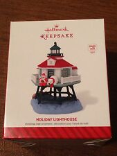 Hallmark 2014 Ornament - Holiday Lighthouse - 3rd In  Holiday Lighthouse Series