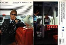 """ELTON JOHN """"Songs From The West Coast"""" (PARTITIONS / SHEET MUSIC) 2001"""